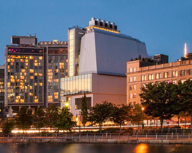 Музей американского искусства Уитни на Манхэттене по проекту Ренцо Пьяно