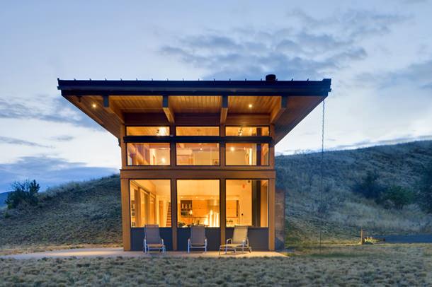 Дом в горах штата Вашингтон. Проект Balance Associates | фото
