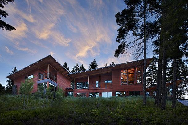 Дом Basecamp от Johnston Architect's в Рослине