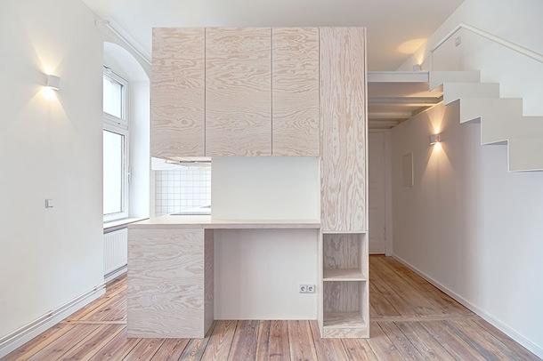 Spamroom обновила микро-апартаменты в Берлине