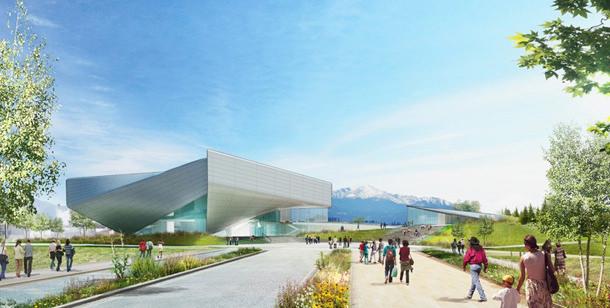 Студия Diller Scofidio + Renfro показала наброски Олимпийского музея США