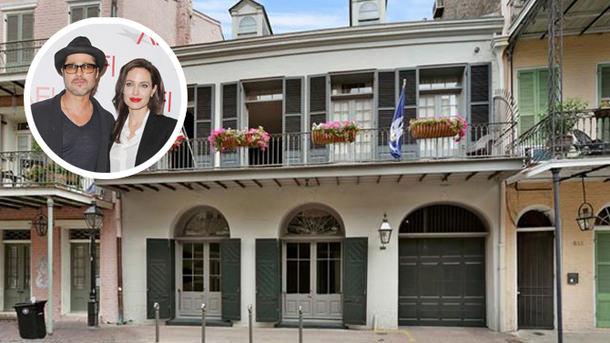 Брэд Питт и Анджелина Джоли продают дом в Новом Орлеане | цена