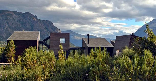 В Патагонии построен абстрактный дом с видом на Анды