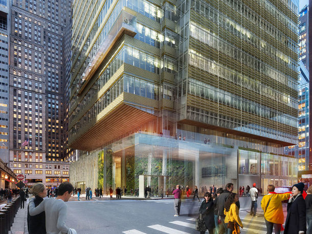 SL Green Realty Corp. построит небоскреб на Манхэттене