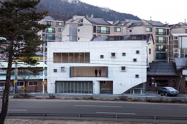 Бюро studio_GAON построило бизнес-комплекс на окраине Сеула