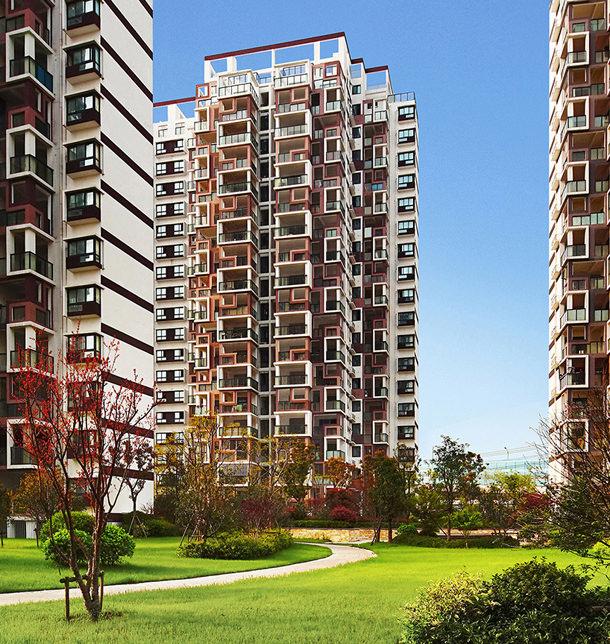 Жилой комплекс Cloud Cube в Китае от Formless Architects