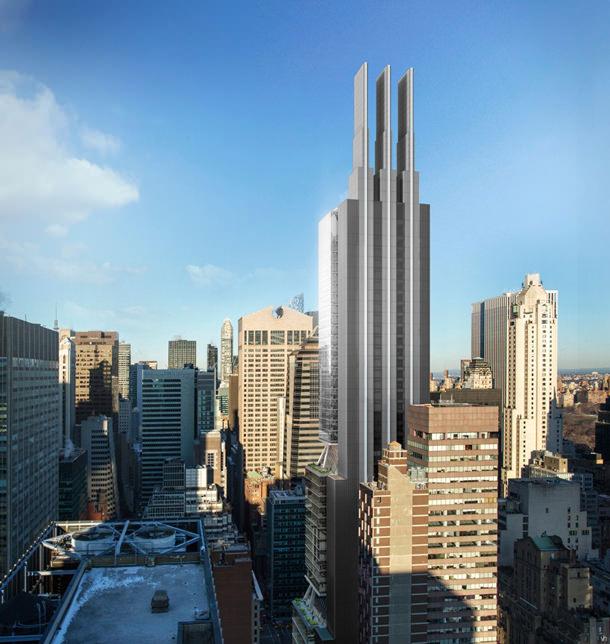 Foster + Partners заложила первый камень нового небоскреба в Нью-Йорке