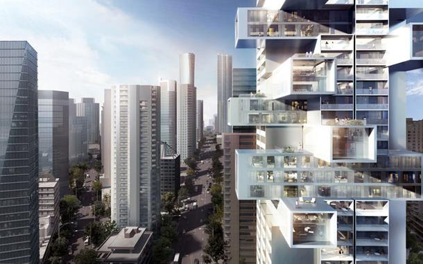 Ole Scheeren построит в Ванкувере небоскреб
