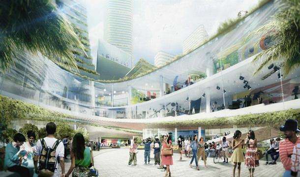 В Майами хотят построить технологический квартал будущего