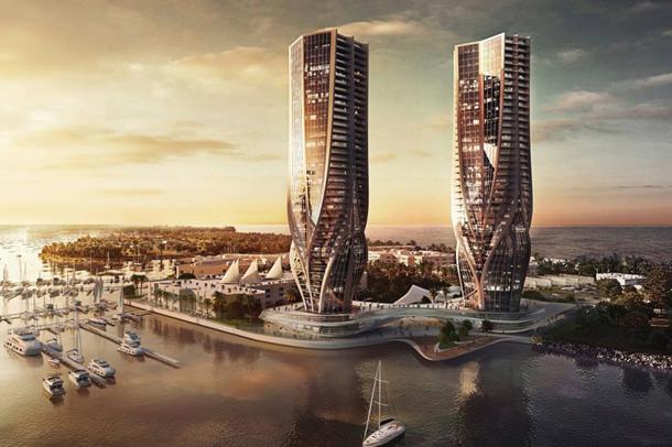 Заха Хадид спроектировала два небоскреба для австралийского города Голд-Кост