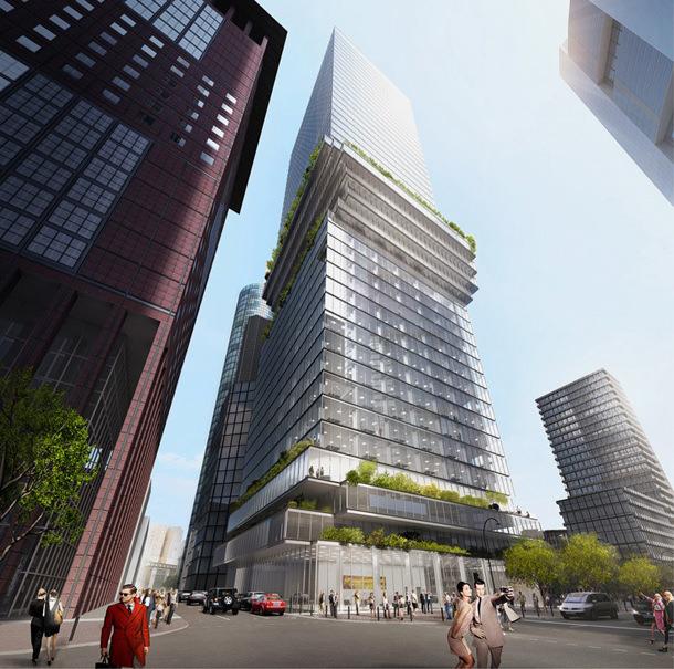 Во Франкфурте построят танцующий небоскреб