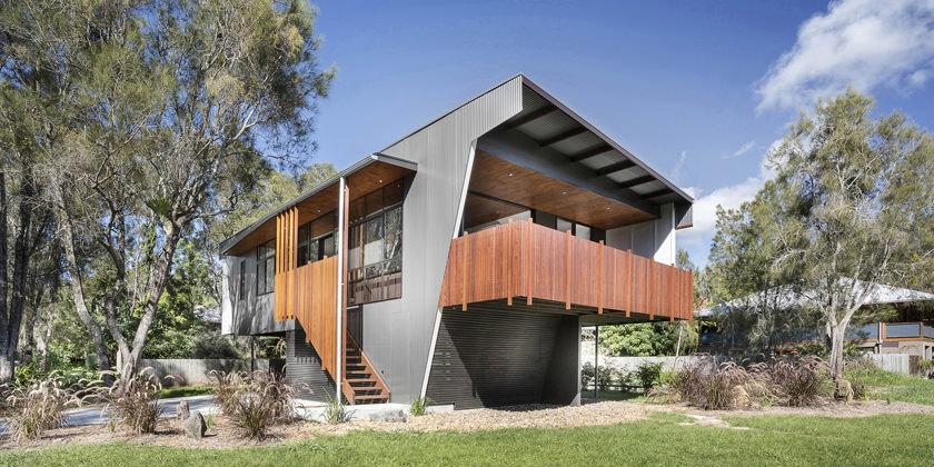 Пляжный дом на берегу океана в Австралии от Refresh Design
