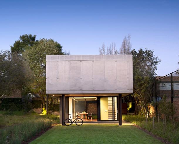 Двухэтажный дом-студия от W Design Architecture Studio