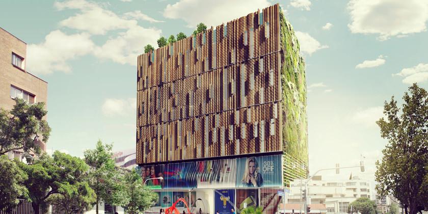 Студия Kamvari Architects спроектировала бизнес-центр для Тегерана