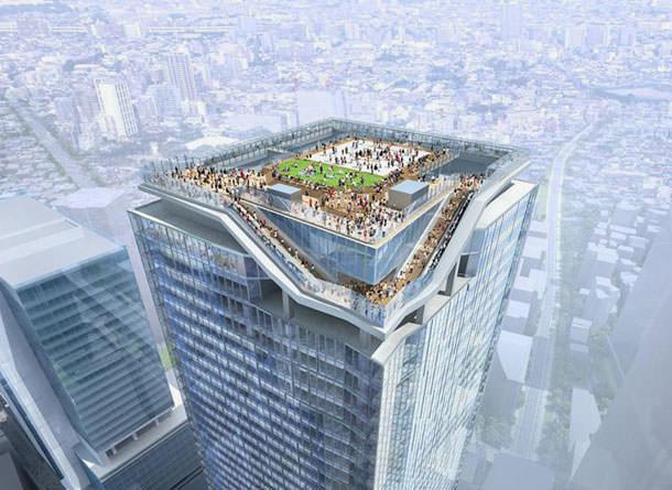 Проект небоскреба в Токио от SANAA