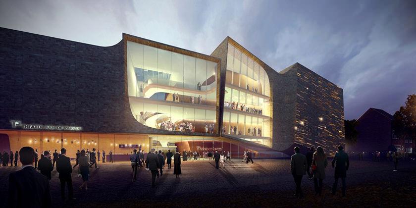 В Нидерландах построят театр по проекту UNStudio