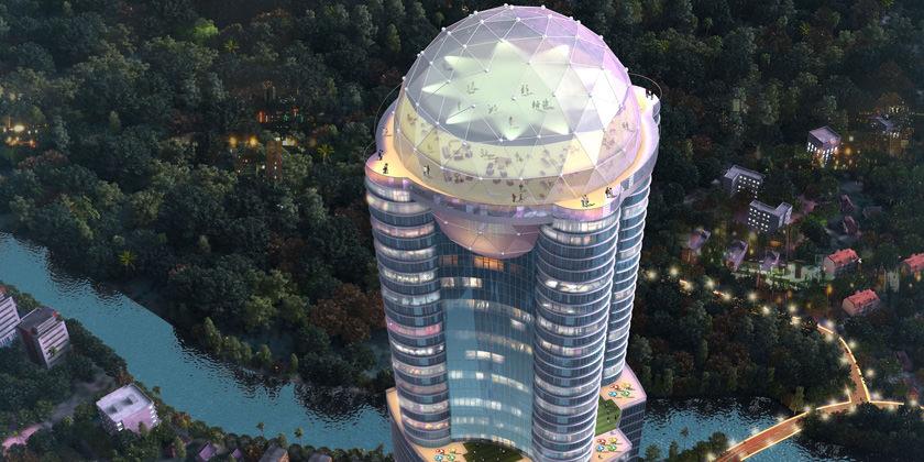 На острове Шри-Ланка построят 363-метровый небоскреб