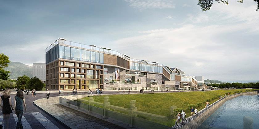 В Китае построят торговый центр по проекту Kuan Architects