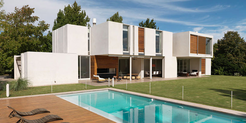 Вилла в Буэнос-Айресе от Alric Galindez Architects