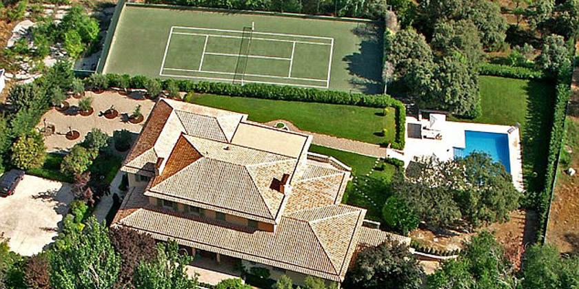 Дэвид Бекхэм продал дом в Мадриде