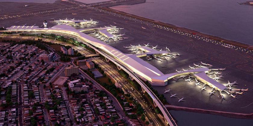 Проект обновления аэропорта Ла Гуардия в Нью-Йорке