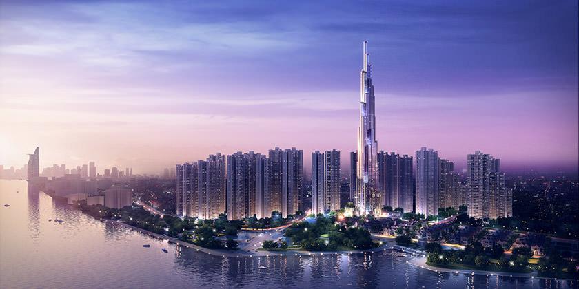 Atkins начала строительство самого высокого небоскреба во Вьетнаме