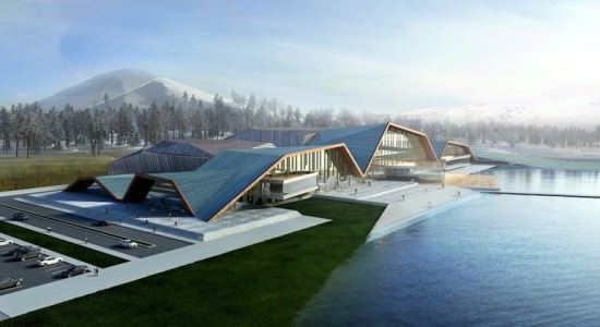 Оздоровительный комплекс Losev Natural Life Center & Drugless Therapy Institute от Muum Architects в Турции