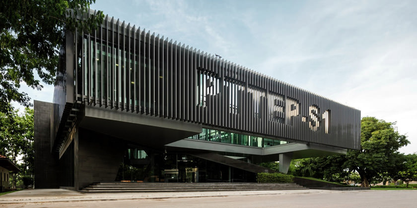 Офисный комплекс в Таиланде от Office AT