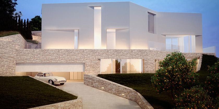 Casa Cala Ambolo от Рамона Эстевы в Испании