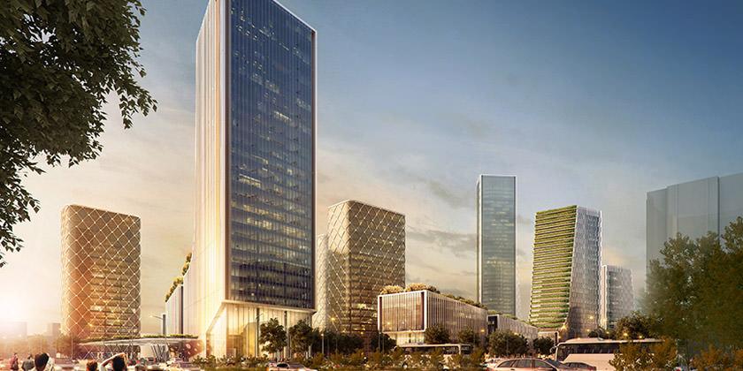 Компания Ennead Architects построит в Шанхае новый «зеленый» квартал