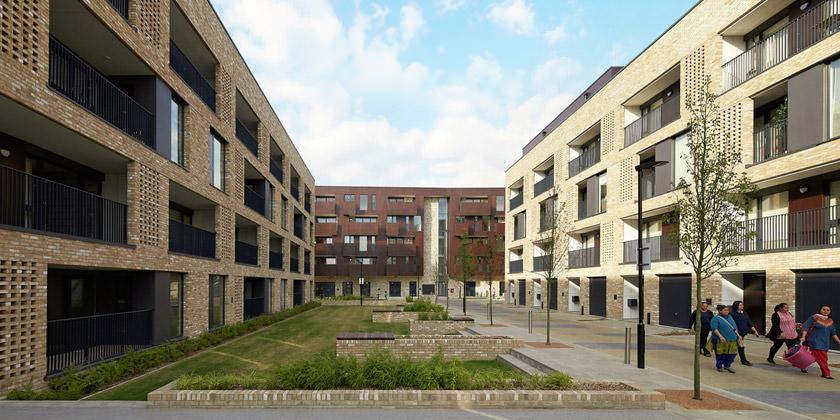 Жилой комплекс в Лондоне от Ayre Chamberlain Gaunt | фото
