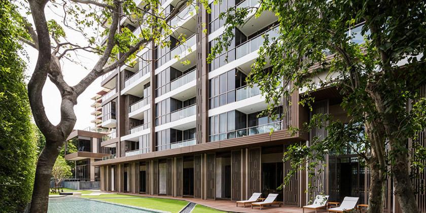 Жилой комплекс в Таиланде от Steven J. Leach Architects