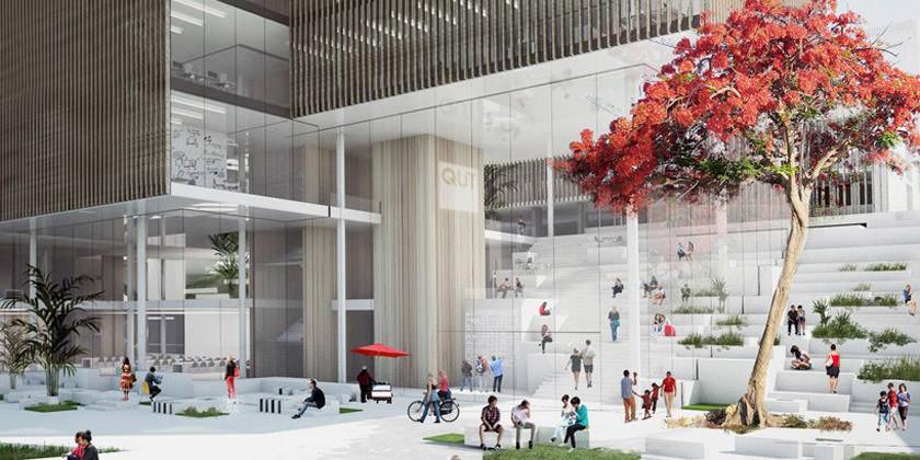 Студия Хеннинга Ларсена построит кампус для Квинслендского Технологического Университета