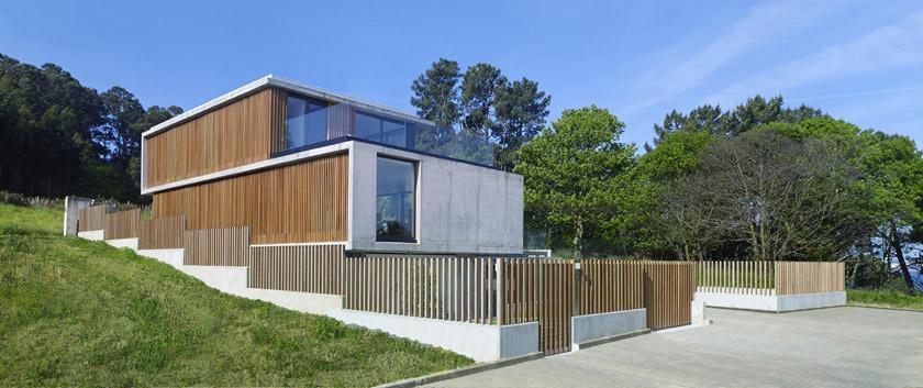 Загородный особняк в Испании от Díaz & Díaz Arquitectos