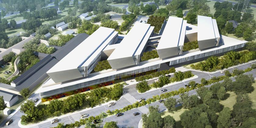 Проект больницы в Гане от Perkins + Will