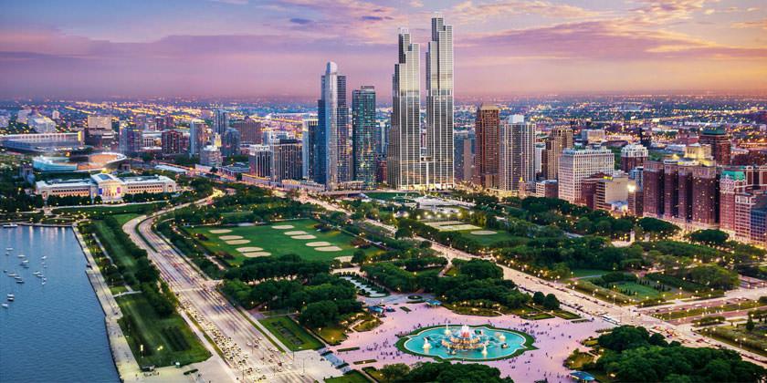Рафаэль Виньоли спроектировал башни-близнецы для Чикаго