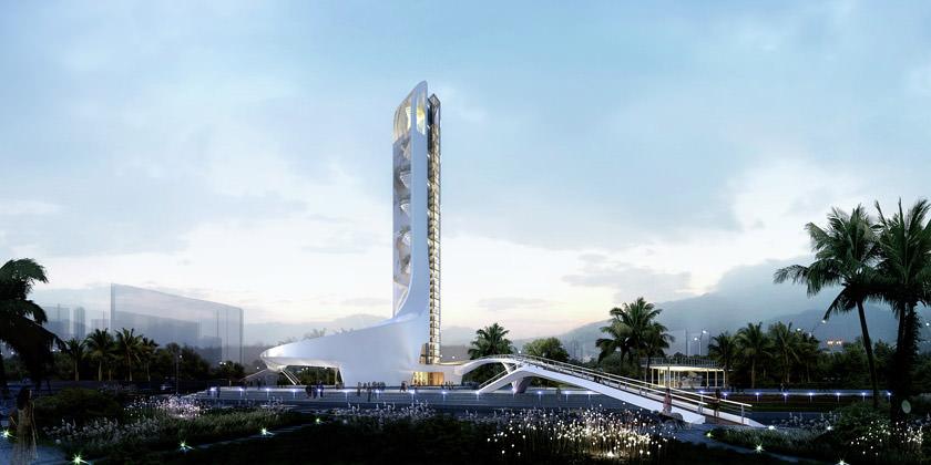 Проект смотровой башни от WVA Architects