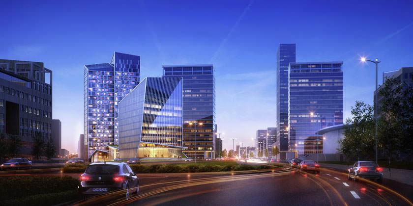 Arquitectonica построит в Люксембурге комплекс высоток