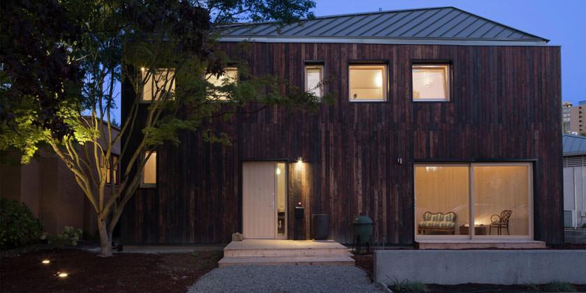 Современный семейный особняк в Сиэтле CLTHouse