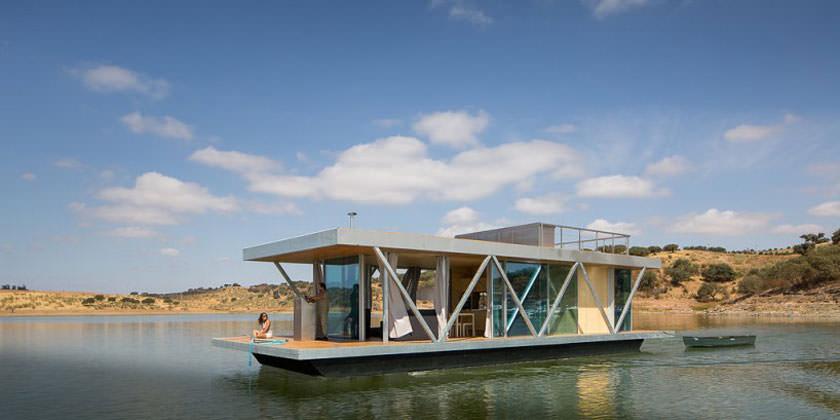 Модульный дом Floatwing от Friday