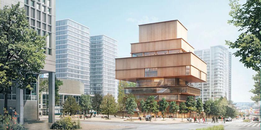 Проект Художественной галереи в Ванкувере от Herzog & de Meuron