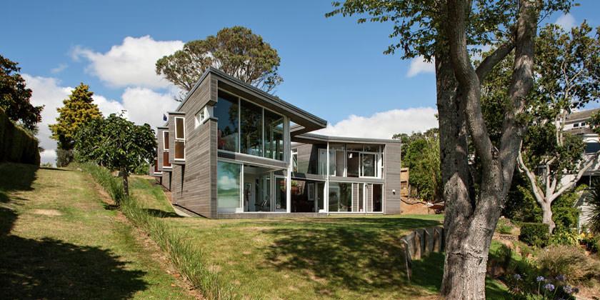 Современный дом от Daniel Marshall Architects в Новой Зеландии