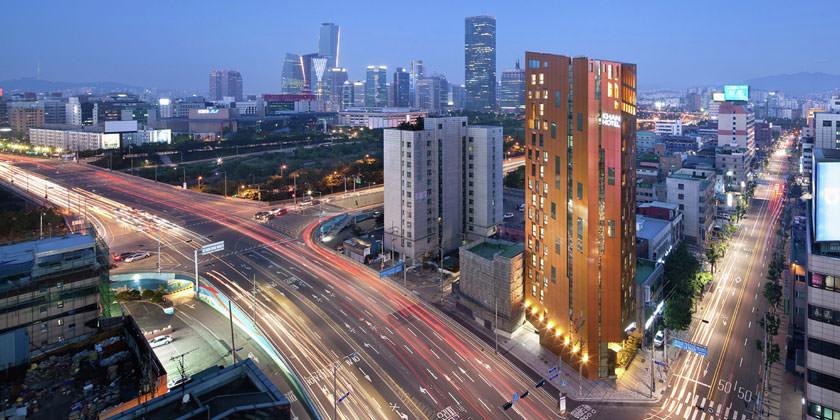 Отель KHAN в Сеуле от студии AIN Group