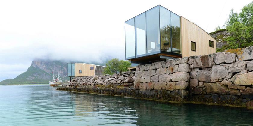 Резорт-отель в норвежской коммуне Стейген от Stinessen Arkitektur