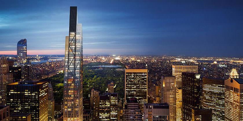 Небоскреб 53W53 на Манхэттене от Жана Нувеля