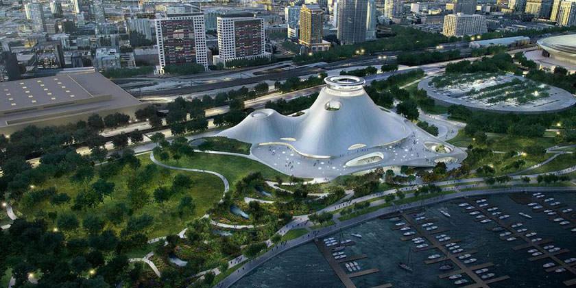 Музей Джорджа Лукаса в Чикаго утвержден к строительству