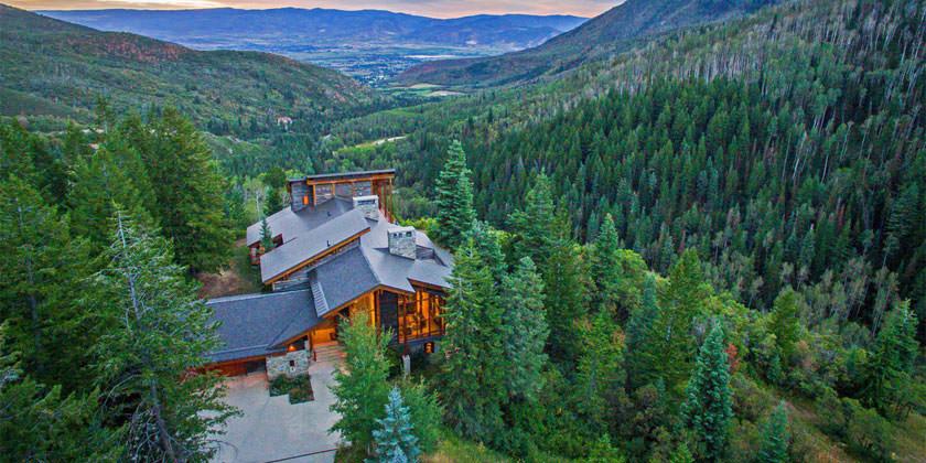 В живописной долине штата Юта продаётся особняк за $9 млн