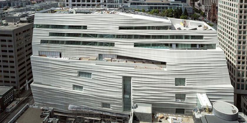 Новый корпус Музея современного искусства в Сан-Франциско откроется в мае 2016 года