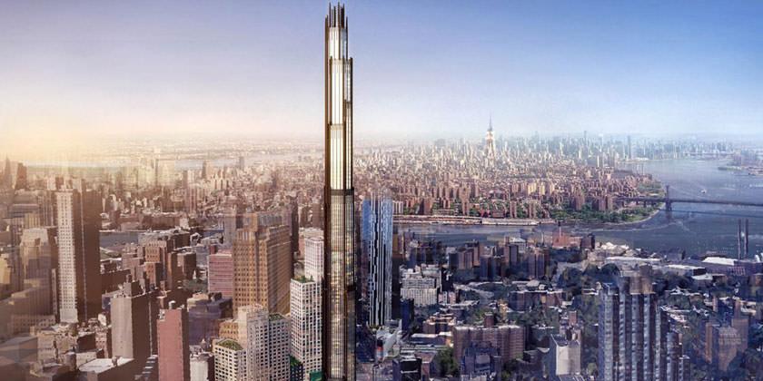 SHoP Architects построит в Бруклине 300-метровый небоскреб