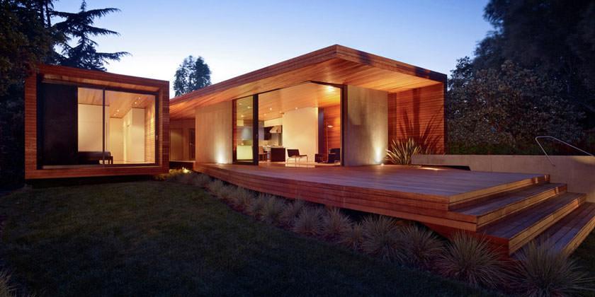 Bal House в Менло-Парк от Terry & Terry Architecture